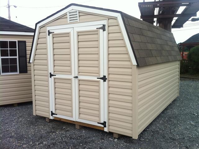 Amish storage sheds pa nj vinyl storage sheds backyard for Large backyard sheds